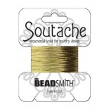 Soutache 3mm - Fb. 1240 - Gold metallic